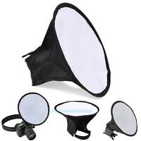 20cm Round Flash Softbox for Diffuser Speedlight Balance Photography For Canon