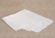 LOT OF 100 WHITE BAGS STORE BAGS MERCHANDISE BAGS PAPER BAGS JEWELRY BAGS