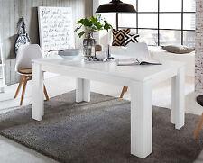 Esstisch Esszimmer Tisch weiß ausziehbar 160 bis 200 cm Küchentisch Ausziehtisch