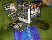 LMA MANAGER 2003 - PS2 PLAYSTATION 2 RARO PAL PRIMA STAMPA