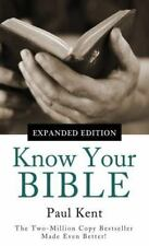Value Bks.: Know Your Bible--Expanded Edition : All 66 Books Books Explained...