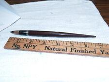 Sheaffer brown Lifetime touchdown desk fountain pen (A82)