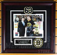 Brad Marchand Boston Bruins Signed Autographed 7th Player Award 8x10 Framed