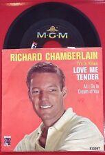 RICHARD CHAMBERLAIN  Love Me Tender b/w All I Do Is Dream Of You 45 RPM  K 13097