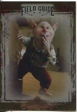 The Spiderwick Chronicles Unreleased Field Guide Chase Card SC-1