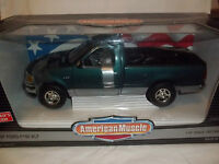 ERTL American Muscle 7224 1997 Ford F150 XLT Met Green 1/18 Mint & Boxed