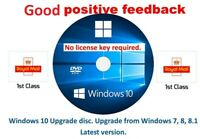 Windows 10 64 upgrade from win 7, 8 or 8.1. PRO HOME no license needed genuine