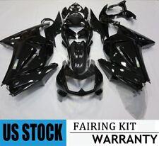 ABS Fairing Kit for 2008-2012 Kawasaki Ninja 250R EX 250 Gloss Black Injection