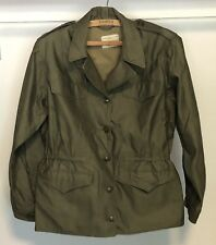 Original 1944 WWII US Army Womens Army Corp WAC M-1943 Field Jacket *RARE* Sz 14