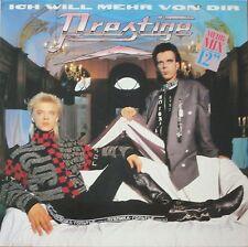 """Prestige - Ich will mehr von dir: Mehr-Mix (12"""" Vinyl Maxi-Single Germany 1986)"""