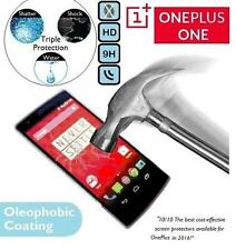 100% Genuine Premium Tempered Glass 9H LCD Screen Protector Plus for OnePlus One