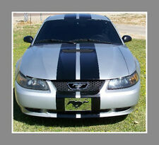 "1994 to 1998 Mustang 10"" Plain Rally stripes Stripe Graphics GT LX Cobra GT500"