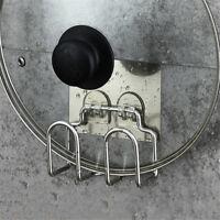 Sponge Holder Kitchen Sink Tool Organize Stainless-Steel Soap Brush Drainer Rack