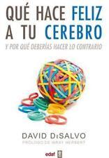 Que hace feliz a tu cerebro (Spanish Edition) by David Di Salvo in Used - Good