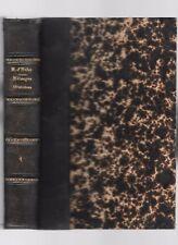 MÉLANGES ORATOIRES de M.D'HULST panégyriques et oraisons funèbres discours 1891