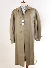 Vintage Burberrys Mac Trenchmantel Trench Coat Made in England Tan Khaki Baumwol