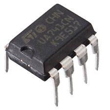 5PCS STMicroelectronics UA741CN UA741 Operational Amplifier OpAmp DIP-8 New IC