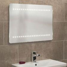 "Roper Rhodes ""Flare"" Illuminated LED Bathroom Mirror."