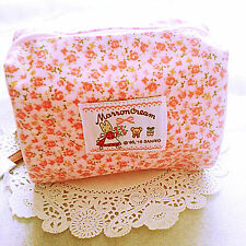 Marron Cream Sanrio Pouch Cosmetic Case Bag Purse Laminated (My Lovely 80's)