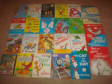 Bright and Early Beginner Book LOT Dr Seuss Disney Kids Cat in Hat HC Grinch DVD