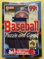 1988 Donruss Baseball Card Cello Pack Bobby Bonilla (Top) & Pat Terry (Back)
