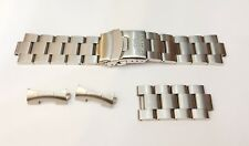 Orient Solid  Stainless Steel Mens Watch Bracelet  22mm Good Condition