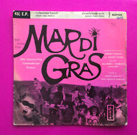 """A48, Hit Songs From Mardi Gras, 7"""" 45rpm Ep, Very Good Plus Condition"""