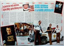 DICK RIVERS => coupure de presse 2  pages 1976 / CLIPPING