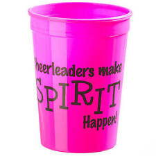 Cheerleader Spirit Cup Party Favor Gift Basket Set of 12