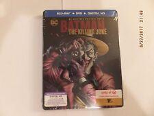 Batman: The Killing Joke steelbook DC (Blu-ray/DVD, 2016, Digital Code) new