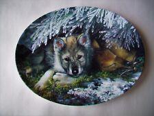 Gentle Awakening Plate Timberland Secrets #2 Linda Daniels -Wolves -Bradford Ex.