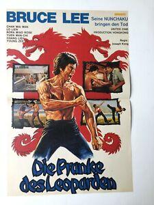 Poster Nr. 6 Bravo Die Pranke des Leoparden Bruce Lee Barbra Streisand s/w  A 3