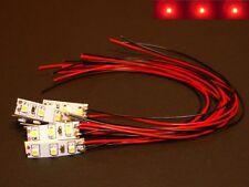 S943 10-pc Mini LED éclairage domestique avec câblage rouge 8-16V Foire Maisons