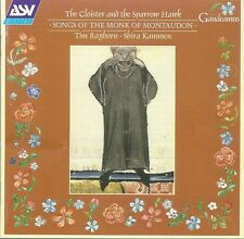 Monk of Montaudon: The Cloister and the Sparrow Hawk. 12th century songs.