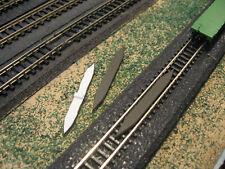 Z SCALE MODEL TRAIN TRACK RERAILER RAIL TIE BROWN FREE SHIPPING FITS MARKLIN