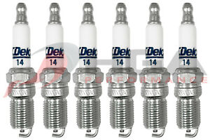 Genuine GM ACDelco RAPIDFIRE Platinum Spark Plugs #14 Set Of 6
