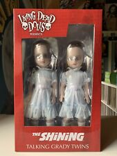 Living Dead Dolls The Shining Creepy Talking Grady Twins Nib Never Opened.