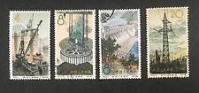 PRC China 1964 S68 Xinanjiang Hydro-electric Power Station. Sc#806-809 Used