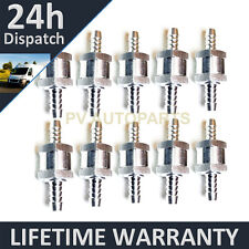 "10 X 12MM 1/2"" ONE WAY ALUMINIUM NON RETURN CHECK VALVE PETROL DIESEL OIL WATER"