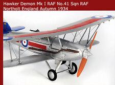 Corgi Airplane Hawker Demon K2905, 41 SQN, C Flight RAF AA39602 1/72 Airplane
