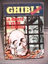 SUPER GHIBLI Editrice Universo 1972 N 7 Fumetti Narrativa per Ragazzi Racconto