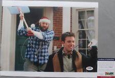 FUNNY!! James Gandolfini Ben Affleck Signed SURVIVING CHRISTMAS 11x14 Photo PSA