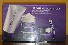 Avon Anew Platinum Recontouring 2 Wk Regimen Full Size Eye Cream Age 60+ $40 NIB