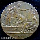 MED2265 - MEDAILLE EXPO UNIVERSELLE PARIS 1889 par DANIEL DUPUIS - MEDAL