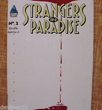 Strangers in Paradise, Comic, Nº 2, 1997/ Abstract Studio, Dude Comics