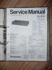Service-Manual TECHNICS sh-8038 equalizzatore, ORIGINALE