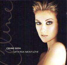 CD 16T CELINE DION LET'S TALK ABOUT LOVE (BARBRA STREISAND) 1997 TBE