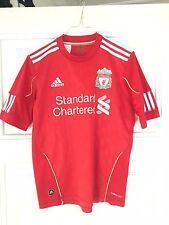 Liverpool Adidas 2010/2011 Camiseta De Fútbol Jersey Hogar Niños L (164)