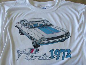 1972 Ford Pinto Sprint Graphic T-shirt - Men's Small - 3XL Sweet Summer Shirt!