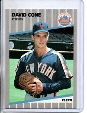 1989 FLEER DAVID CONE ( NM-MT OR BETTER )